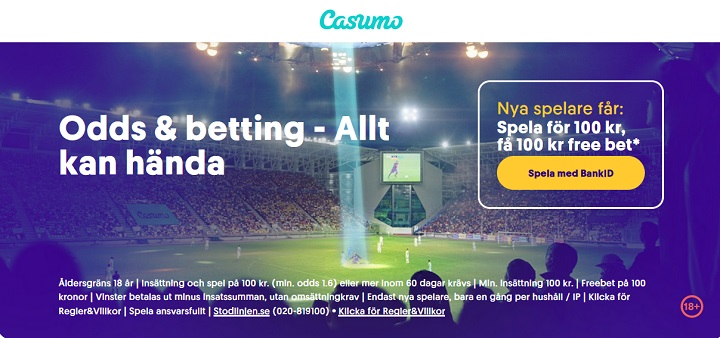 Casumo travbonus 2021 – Spela med bonus på trav